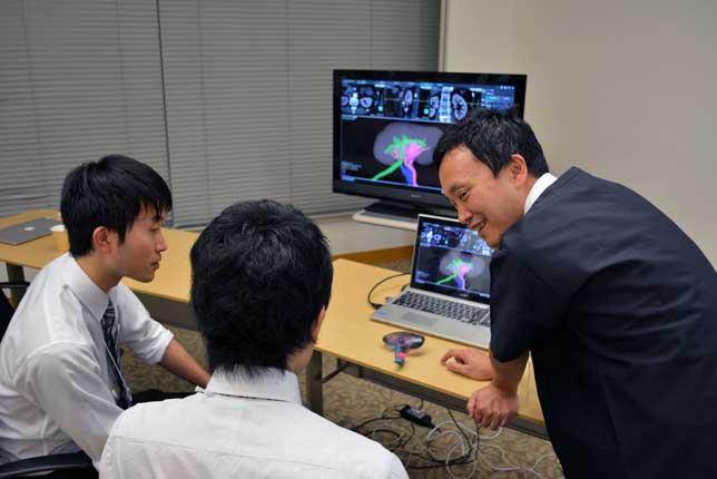 3D画像ナビゲーション 構築シミュレーション